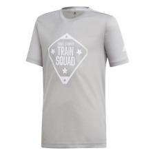 Adidas Kids Young Boys Tshirt Squad Tee Training Fashion DV1408 Lifestyle