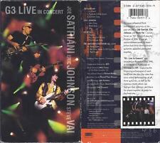 VHS:  G3 LIVE IN CONCERT.....JOE SATRIANI-STEVE VAI-ERIC JOHNSON