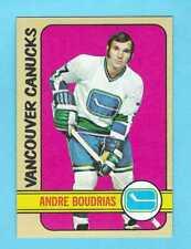 1972-73 Topps 158 Andre Boudrias Vancouver Canucks! MINT!    *SET BREAK*