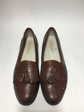 Florsheim Loafers Size 10.5D Brown Leather Wingtip Kiltie Tassel Slip-On [7]