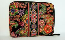 """Vera Bradley Lap Top Case Computer Bag Quilted Fabric - 14"""" x 11"""""""