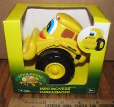 John Deere Kids LUKE LOADER Mini Movers 1998 Ertl Toy 34058 jd preschool retired
