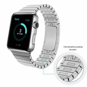 Butterfly Link Bracelet Stainless Steel Band Strap For Apple Watch series 7/6/5