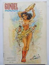Vintage PinUp - Gondel Magazin 1/1950 im Top Zustand, Inhalt siehe Foto