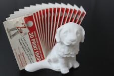 Puppy Business Card Holder - 15 Cards - Displayed unique array layout - Znet3D