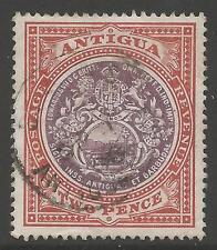 ANTIGUA SG33 1903 2d DULL PURPLE & BROWN FINE USED