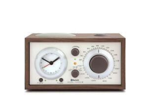 Tivoli Model Three BT AM/FM Clock Radio - Walnut / Beige