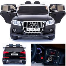 Audi Q5 quattro Kinderauto Kinderfahrzeug Kinder Elektroauto 2x Motoren 12V schw