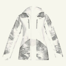 UNDER ARMOUR Women's EMERGENT Snow Jacket - White - Medium - NWT