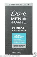 Dove Men+Care Clinical Protection Deodorant Clean Comfort 1.7oz 079400066756DT