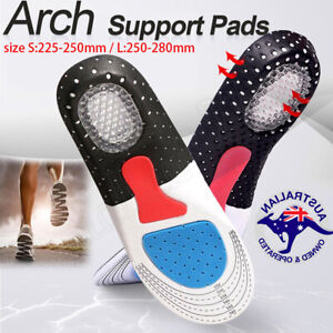 Arch Support Shoe Insoles Pain Relief Plantar Fasciitis Orthotic Inserts Pads Au