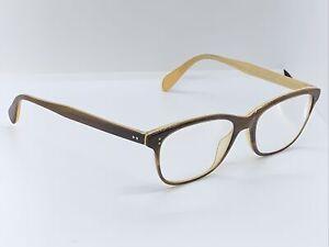 Oliver Peoples Eyeglasses OV 5224 1281 Brown Tortoise Cream Ashton 52-17-140