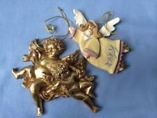 Kurt S. Adler Inc Lot of 2 Angels Christmas  Ornaments