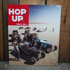 HOP UP MAGAZINE V13 4 HOT ROD BOOK EARLY CUSTOMS FLATHEAD V8 VTG PHOTOS RPM NATS