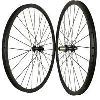 29ER carbon mountain bike wheelset for AM XC 35mm width thru axle 15*100/12*142