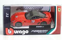 Bburago 36100 FERRARI 599xx - METAL 1:43 Race&Play