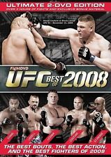 Ultimate Fighting Championship UFC Best Of 2008 2 Disc DVD FREE SHIPPING