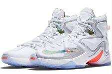 Nike Lebron XIII Easter Basketball White NBA Shoes - Size 11 (807219 108) $200