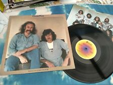 CROSBY & NASH - WHISTLING DOWN THE WIRE US LP W/ INNER EXCELLENT CONDITION