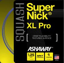 Ashaway Supernick Xl Pro Squash Racket String - 9m Packaged Set