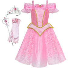 US STOCK! Girls Dress Princess Costume Accessories Crown Magic Wand Size 4-10