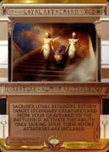 Loyal Retainers PREMIUM / FOIL - Masterpiece Amonkhet Invocations - Magic mtg