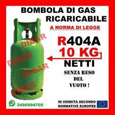 SOSTITUTO R404A R404 *NUOVO GAS* R407H 2KG NETTI IN BOMBOLA RICARICABILE DA 3 LT