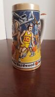 Basketball Budweiser Sports Series Stein 1991 - Handcrafted for Anheuser-Busch