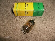 6688 - Amperex Pq Disc Getter Radio Tube - Tested Tv-7 D/U Nos