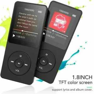 Support 128GB  MP4/MP3 Lossless Music Player FM Radio Recorder Sport Portable