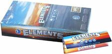 Elements 1.25 1 1/4 Size Ultra Thin Rice Rolling Paper With Magnetic Closure .