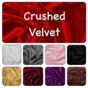 Crushed Velvet Fabric - Tablecloths, Craft fairs, Display Tables - 2.5m lengths