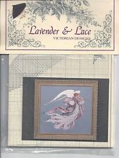 ANGEL OF SPRING Cross Stitch Chart Lavender & Lace Victorian Designs Counted