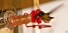 geranium flower Copper Window Mount Hummingbird Feeder ( Hand Crafted )