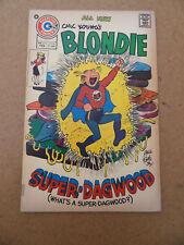 Blondie 212 . 2nd App. Super Dagwood . Charlton 1974 . FN