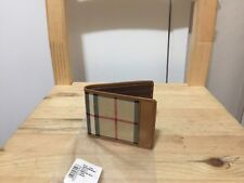 Butberry Horseferry Ultra Slim Thin Wallet Check New