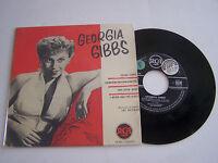 EP 4 TITRES VINYL 45 T , GEORGIA GIBBS ,SUGAR CANDY . RCA 75.421 . VG ++ / VG +