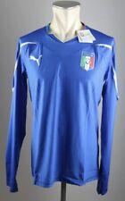 Italien Trikot 2010 Gr. XL Puma Jersey WM EM Shirt Home blau Italia Italy LS