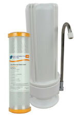 Single Bench Counter Top Water Filter Bacteria Removal 0.1 Micron H1-100UFC