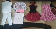 Lot of 6 Girls Clothing Dress Bike Shorts Top Size 10-11 Years