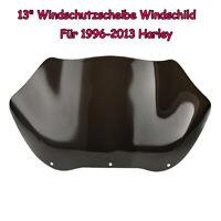 """13"""" Windschutzscheibe Windschild Für 96-13 Harley FLHT FLHTC FLHX Glide Touring"""