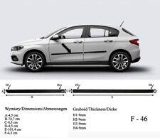 Seitenschutzleisten schwarz für Fiat Tipo Schrägheck ab 03.2016- Rammschutz