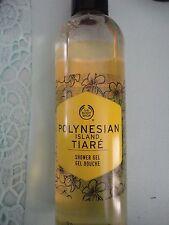 NEW The Body Shop Polynesian Island Tiare Body Wash / Shower Gel 8.4