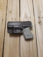 Concealment Fits Glock 26, 27, 33 Black Carbon Fiber Kydex holster IWB right