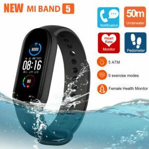 Xiaomi Mi Band 5 Smart Watch/Bracelet Fitness Activity Tracker Heart Rate Black