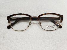 VIVID 882 Eyeglass frames Brown 52 17 135 New
