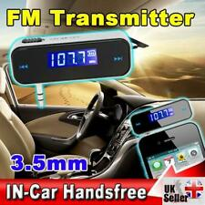 FM Transmitter with 3.5mm Headphone Jack, Play your MP3/Phone through Car Radio