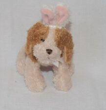 Ganz Soft spot NY14227-9903 Pug Puppy Dog Easter Bunny Ears Plush Animal  8""