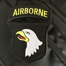 Wwii Us Army 101St Airborne Division Screaming Eagles Tactical Morale Hook Patch