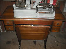 BEAUTIFUL 100 YEAR OLD ILCO MINUTE LATHE SKELETON / SLOT KEY MACHINE / CUTTER